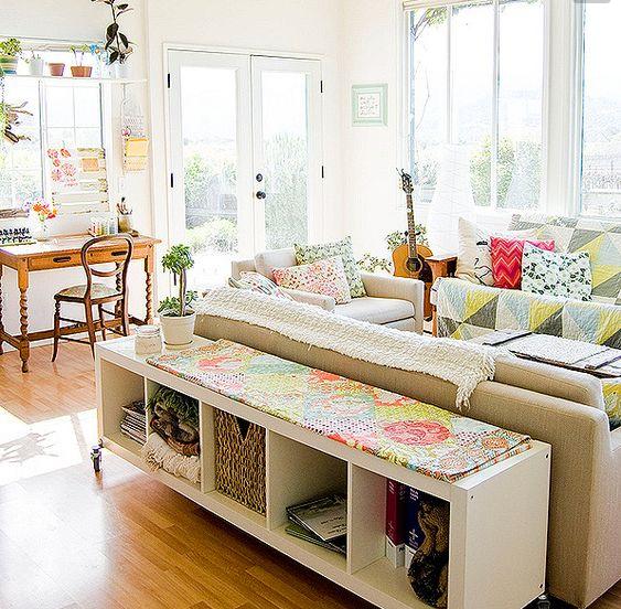 Picture idea 39 : Con il mobile retro divano puoi sfruttare gli spazi ...