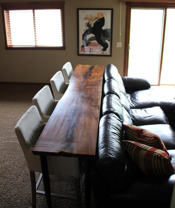 Con il mobile retro divano puoi sfruttare gli spazi più