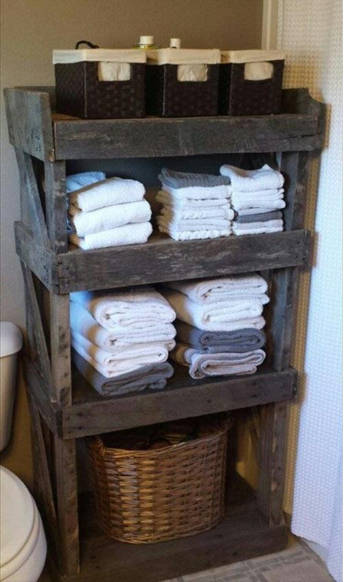 Affordable mobili bancali bagno with arredamento con for Bancali legno per arredare