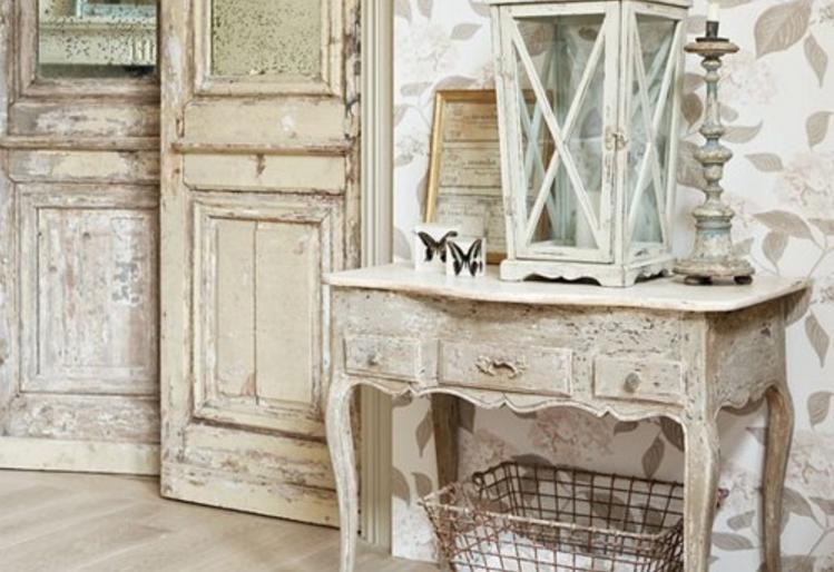 Mobili bianchi e di legno: ma in stile shabby (FOTO)