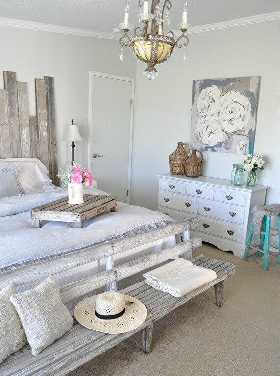 Molto 21 modi per arredare la camera da letto in stile shabby (FOTO) TA63