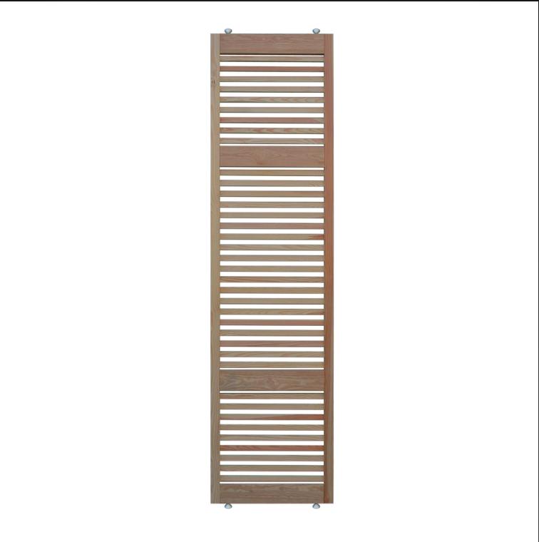 Pareti divisorie in legno di Leroy Merlin: foto, modelli e prezzi