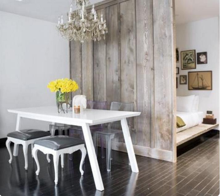Favorito Come dividere con la parete in legno divisoria la tua casa ZB79