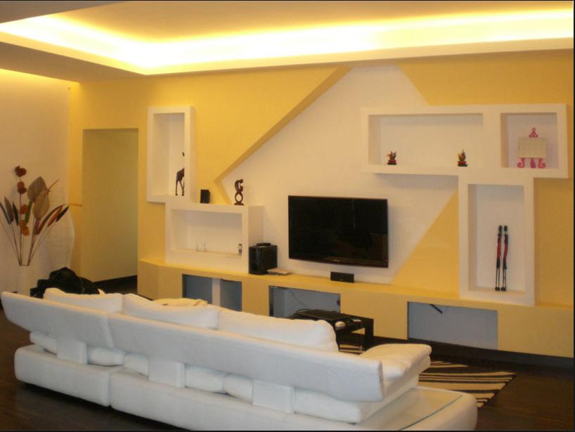 Realizza in casa pareti attrezzate in cartongesso e legno for Costruire porta tv