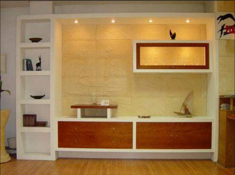 Estremamente Realizza in casa pareti attrezzate in cartongesso e legno BM65
