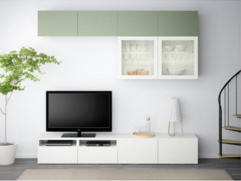 Pareti Attrezzate Moderne In Vetro : I prezzi delle pareti attrezzate dell ikea sono economici