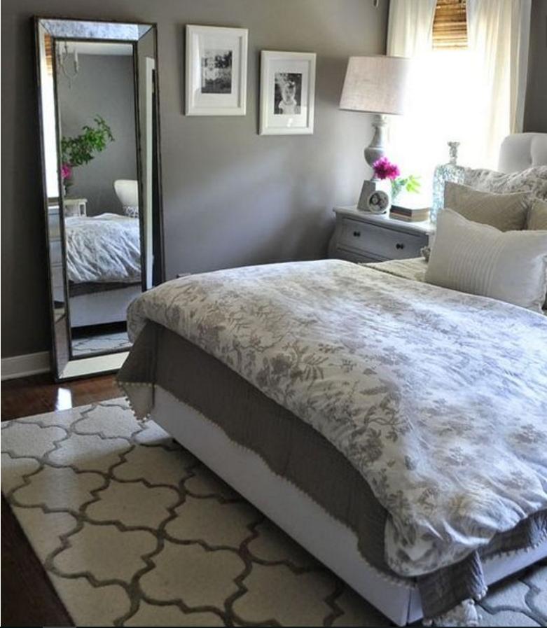 Le pareti tortora sono la sintesi perfetta dello shabby chic - Camera da letto tortora ...