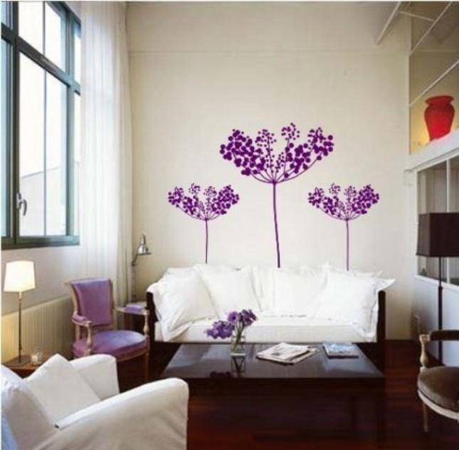 Come abbinare le pareti color tortora e lilla in una casa ...