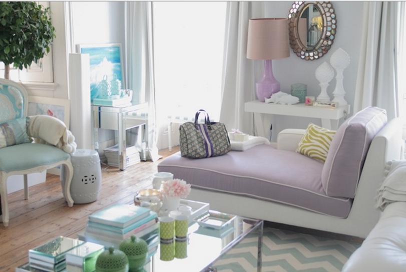 Pareti Viola E Lilla : Come abbinare le pareti color tortora e lilla in una casa shabby