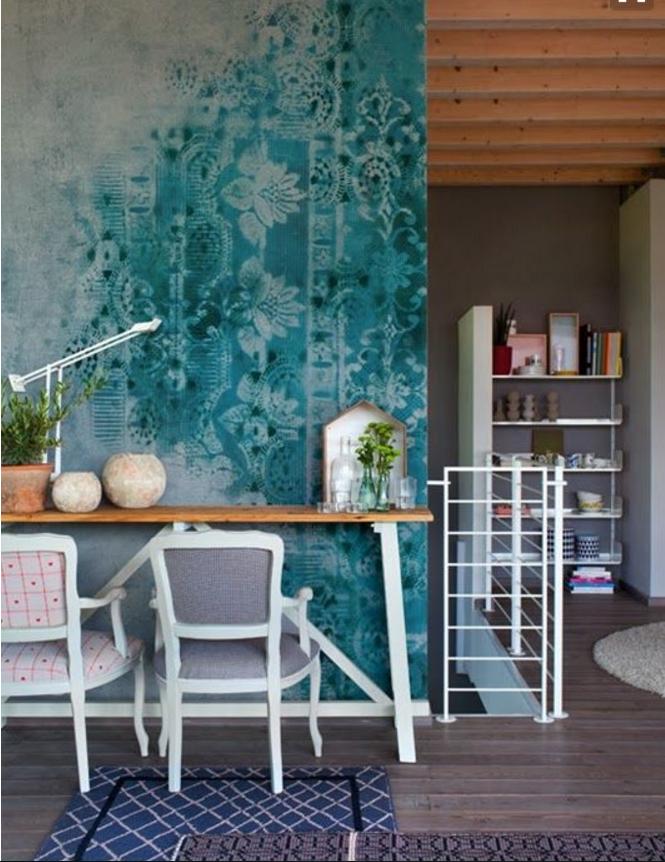 come ottenere pareti colorate particolari nella casa
