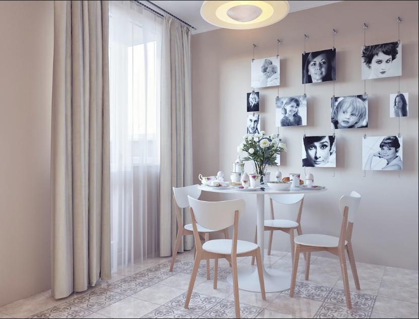 Pareti Con Fotografie : Pareti decorate con foto in stile shabby chic