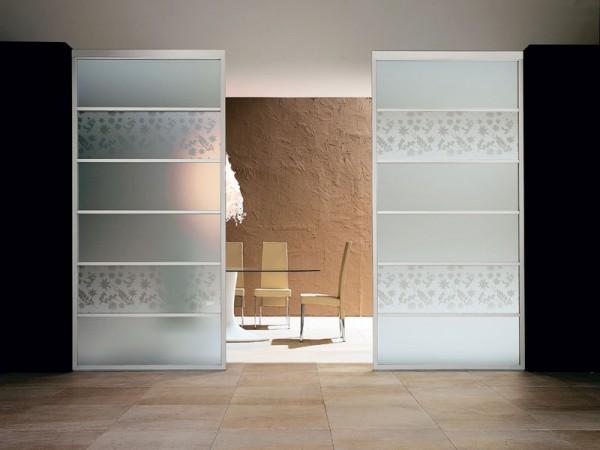 Dividi gli spazi di casa con pareti divisorie in vetro for Pareti salone