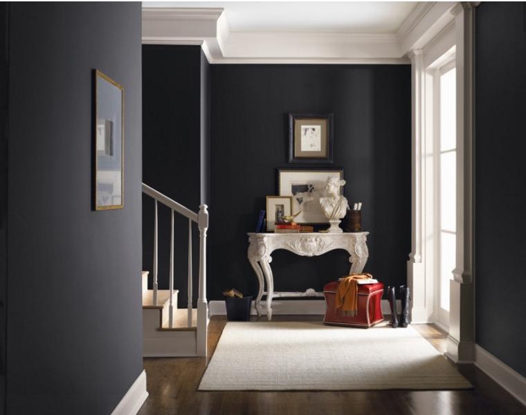 pareti grigie e bianche anche nella tua casa shabby chic - Decorare Con Pareti Grigie