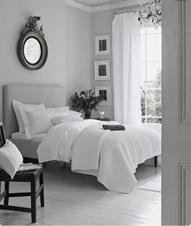 Con le pareti grigio tortora chiaro la tua casa sar favolosa - Pavimento camera da letto ...