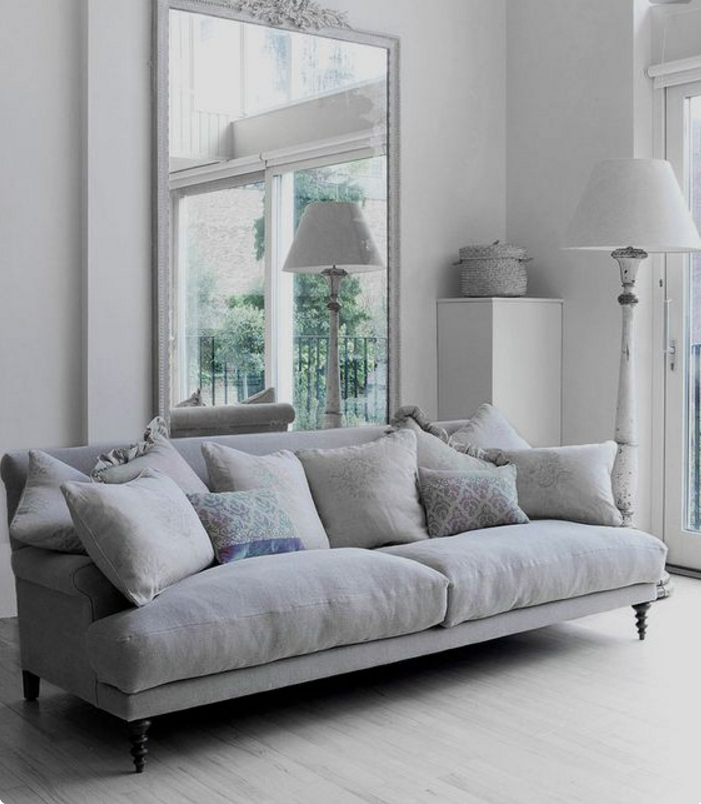 Colore pareti grigio perla rg25 regardsdefemmes for Pareti soggiorno grigio