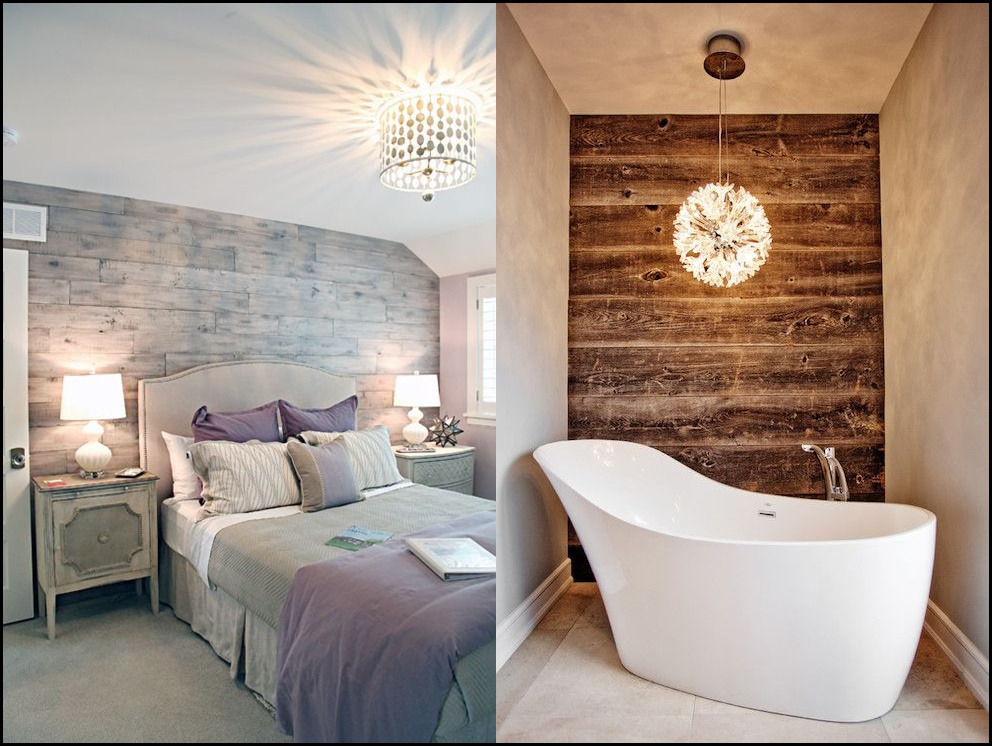 Pareti In Legno Shabby : Esempi di pareti in legno per rendere gli ambienti