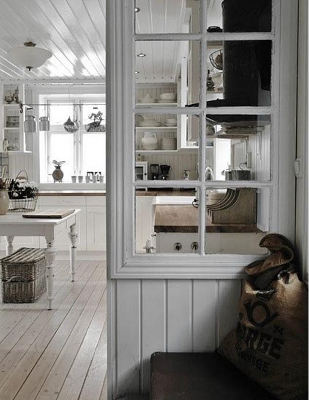 Come dividere con la parete in legno divisoria la tua casa - Parete divisoria in vetro ...