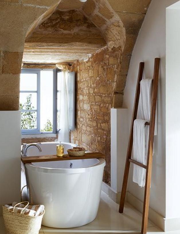 Scegli le pareti moderne in pietra per gli ambienti pi for Bagno pietra naturale