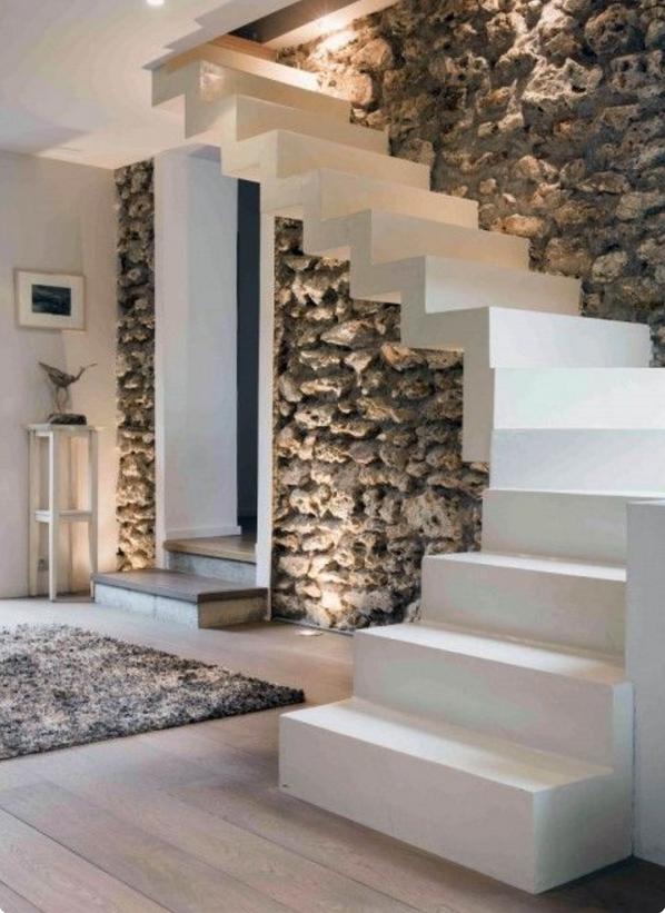 Scegli le pareti moderne in pietra per gli ambienti pi belli della tua casa - Ingressi case moderne ...