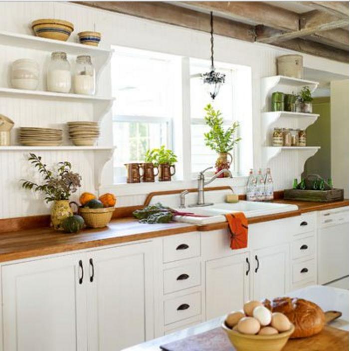 Le pareti verdi in cucina sono molto di tendenza