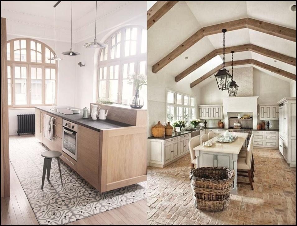 13 tipi di pavimenti diversi per la cucina: quale sceglieresti per