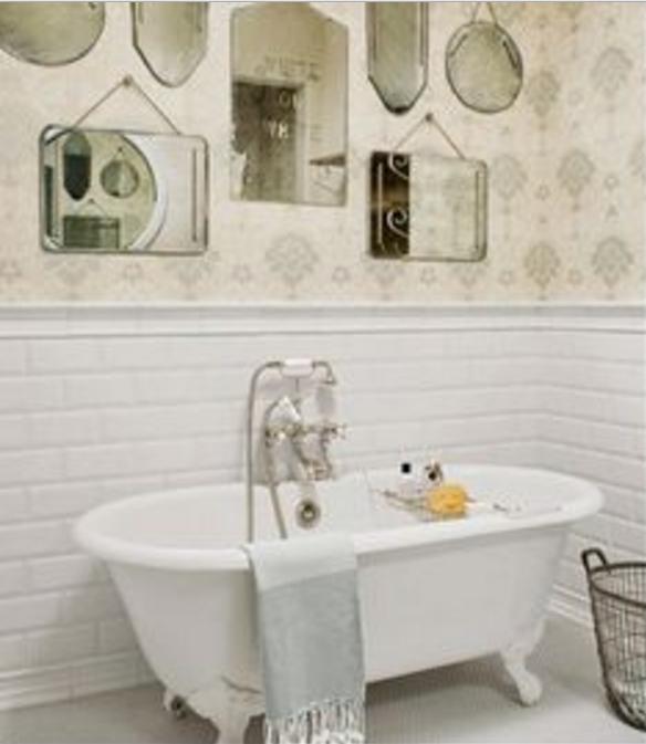 Scegli le piastrelle diamantate per il bagno old style - Piastrelle diamantate bagno ...