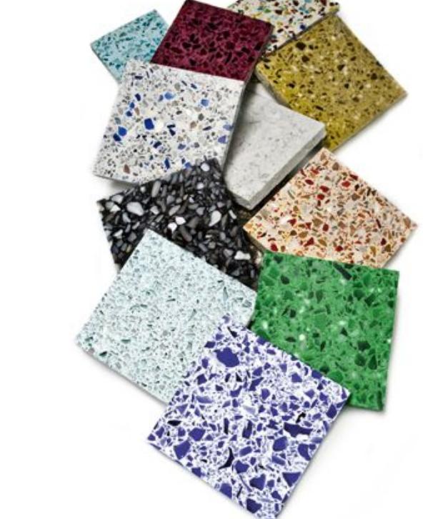 Come rivestimento usa le piastrelle graniglia 50x50 for Piastrelle 50x50