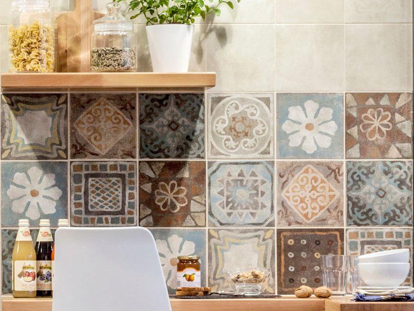 Piastrelle cucina decorate idee per la casa douglasfalls.com