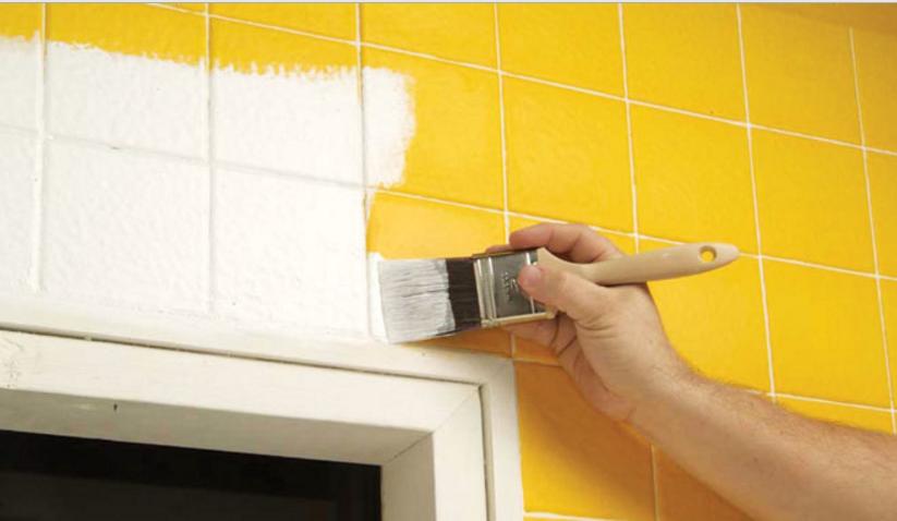Come pitturare le piastrelle per il pavimento di casa tua - Pitturare piastrelle bagno ...