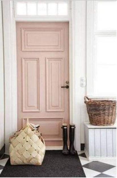 porte restaurate rosa