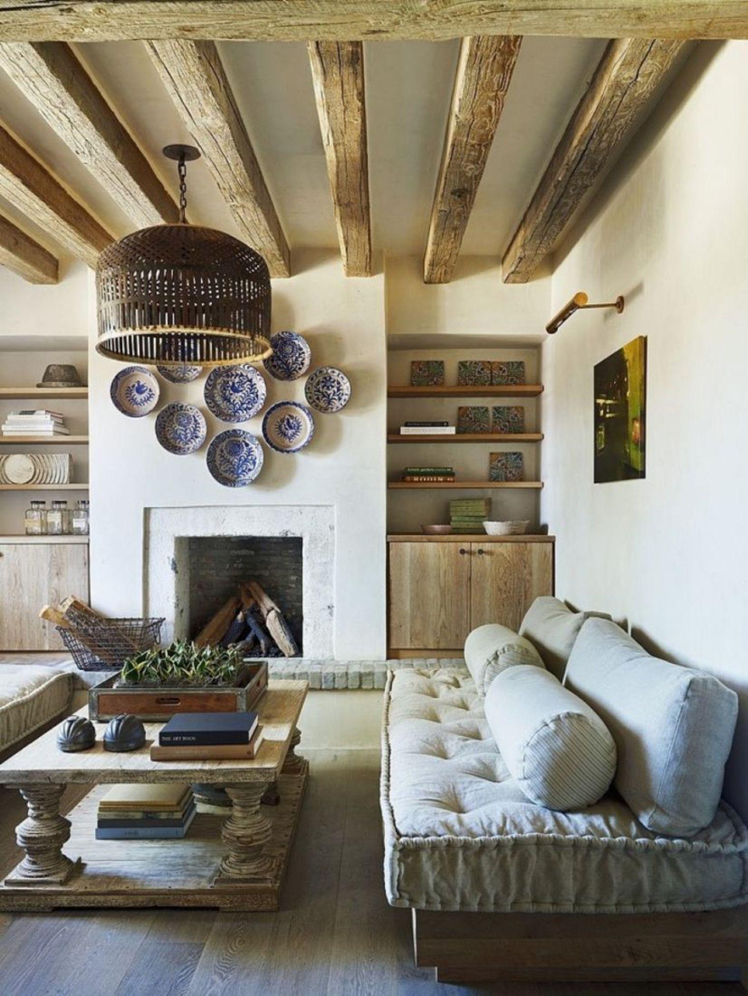 Favorito 14 incredibili modi per decorare un salotto in stile rustico (FOTO) LA11