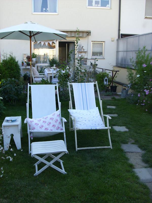 Casa shabby chic arredata con mobili ikea foto degli interni - Sdraio giardino ikea ...