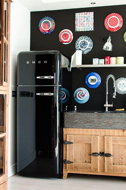12 modi diversi per arredare col frigo Smeg colorato: che idee ...