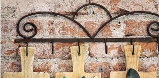 tagliere di legno portaposate