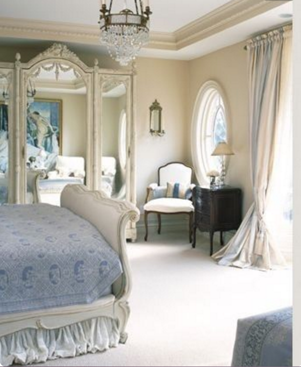 French Bedroom Design Ideas: Nelle Camere Da Letto Provenzali Le Tende Non Devono Mancare