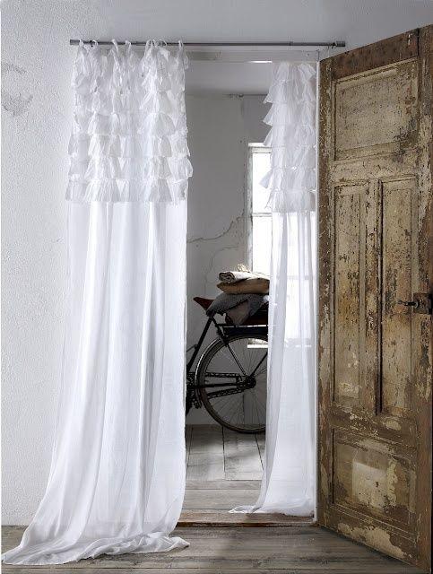 Tanti modelli di tende da interni in stile shabby chic ( FOTO )