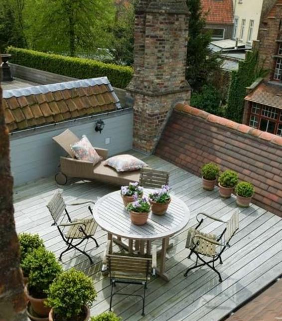 scegli come arredo il design per il terrazzo foto