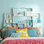 Testiera letto fai da te muro e mobili