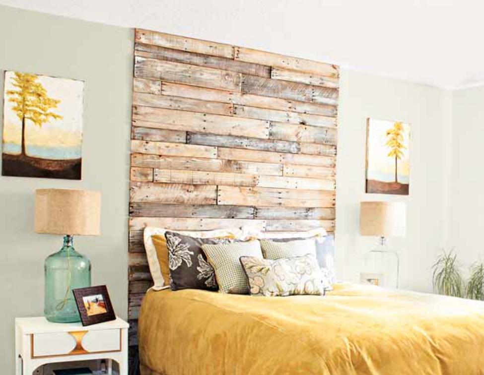Testata del letto fai da te idee per la casa - Spalliera del letto ...