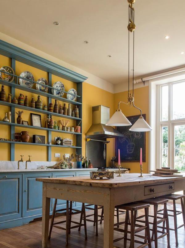 La cucina vintage in stile country di max rollitt dalle - Cucina stile vintage ...