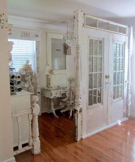 7 Idee Su Come Recuperare Vecchie Porte In Stile Shabby Foto