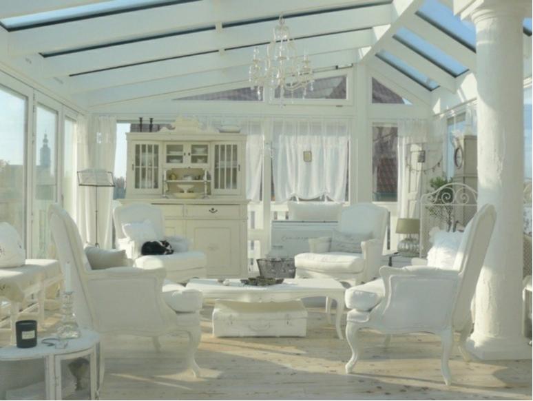 Credenza Per Veranda : Scegli una veranda in legno e vetro arredala stile shabby
