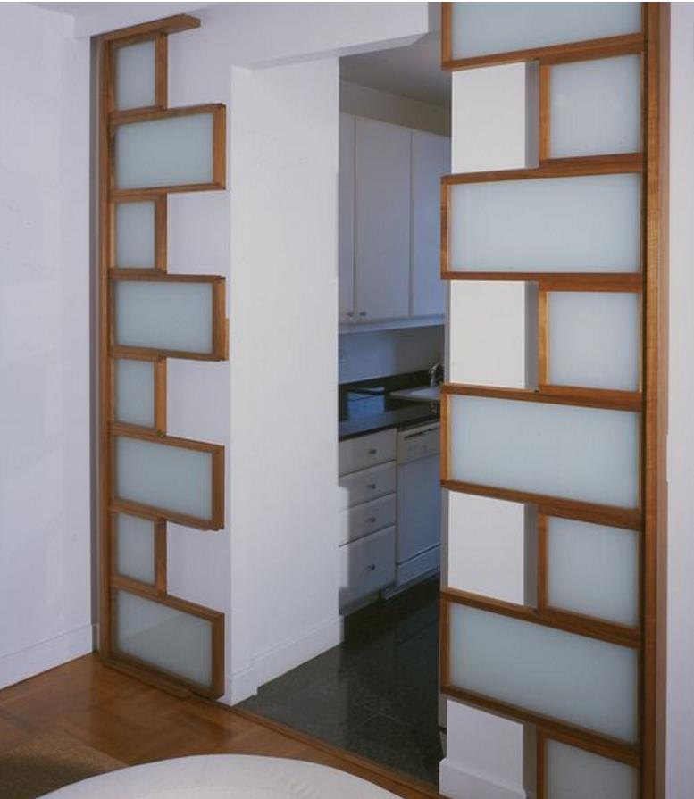Parete Vetro Opaco: Porte scorrevoli vetro satinato per Interni.