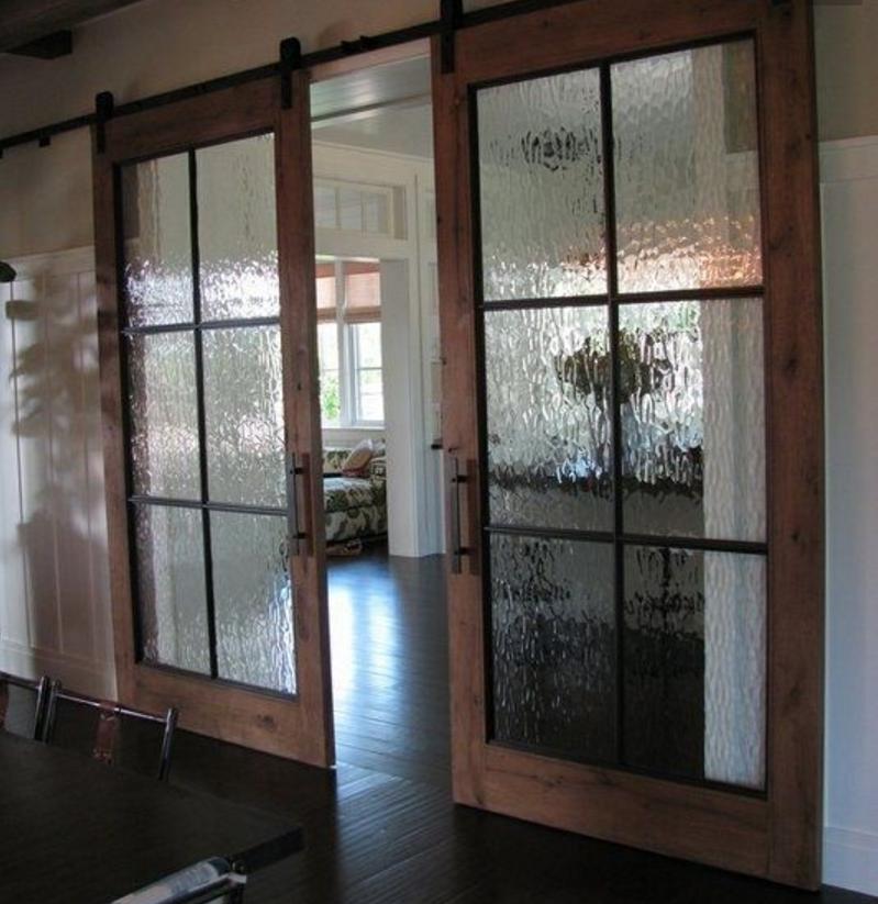 Come abbinare il vetro opaco satinato alla tua casa shabby