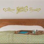 wall stickers personalizzati camera da letto-300x254