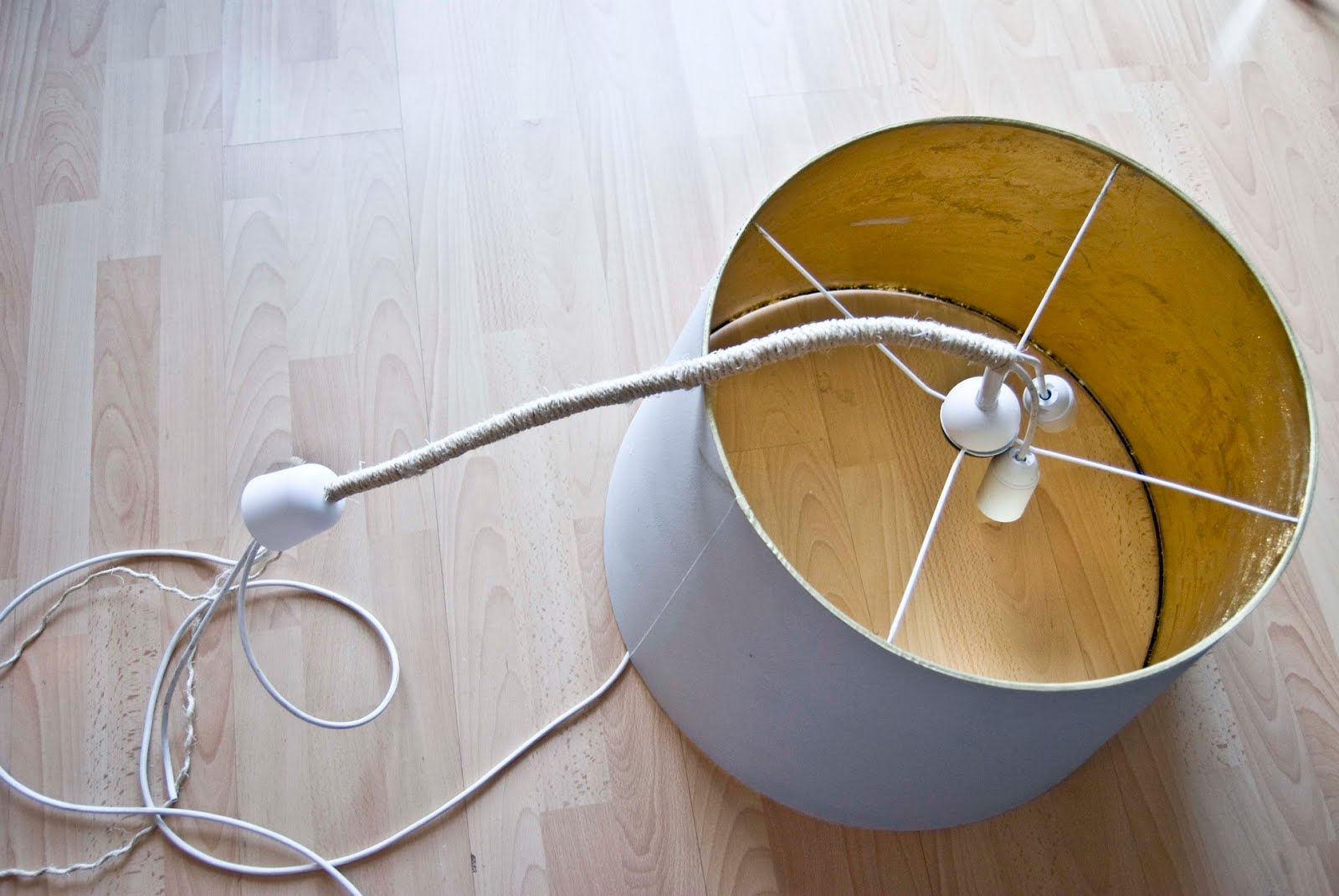 Creare Un Lampadario Di Stoffa come creare un lampadario fai-da-te in stile shabby (video)