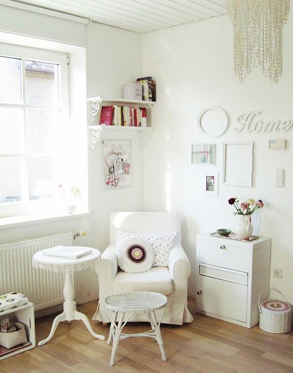 I consigli per arredare un piccolo salotto in stile shabby