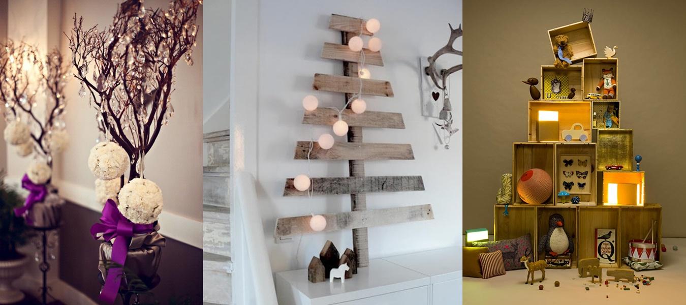 Fai Da Te Decorazioni Casa come realizzare alberi di natale fai-da-te: guarda le foto