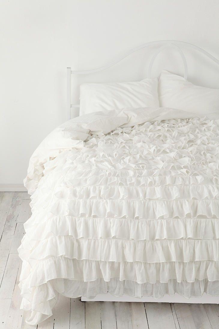 Piumoni Camera Da Letto piumoni matrimoniali per un letto shabby chic: 25 modelli da