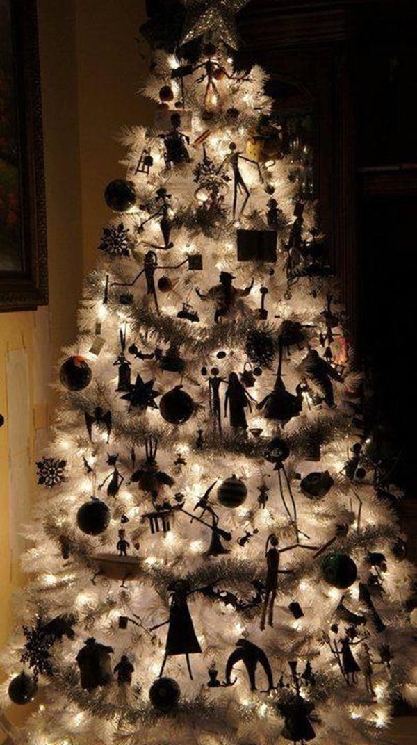 Albero Di Natale Nero E Oro.Albero Di Natale Nero L Ultima Tendenza Dello Shabby Chic Foto